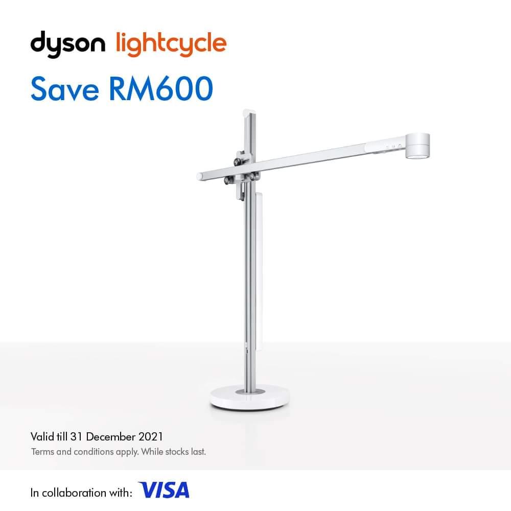 Dyson 10.10 2021 Sales  lightcycle