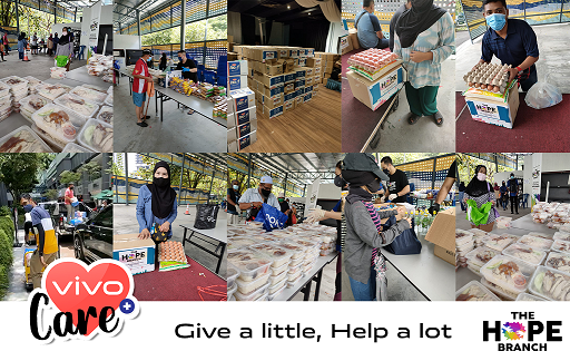 vivo Care initiative gives back to the community 2