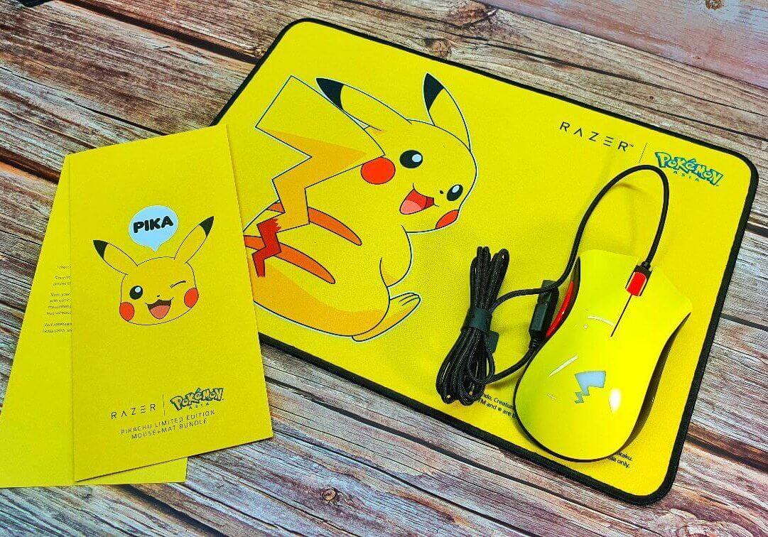 Pokémon Razer hero box contents