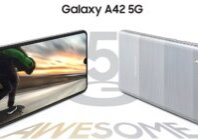 Galaxy A42 5G front