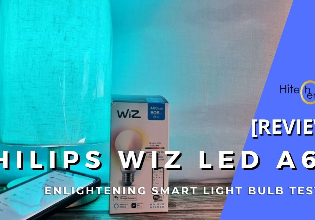 Philips WiZ LED A60 review cover