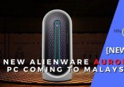 alienware aurora PC cover