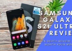 Samsung Galaxy S21 Ultra 5G review cover