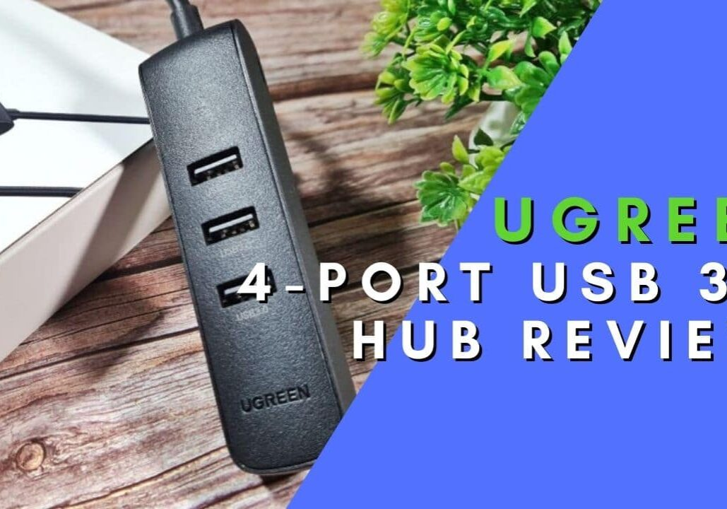UGREEN 4-port USB 3.0 Hub Review box