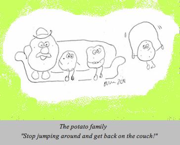 couch potato family