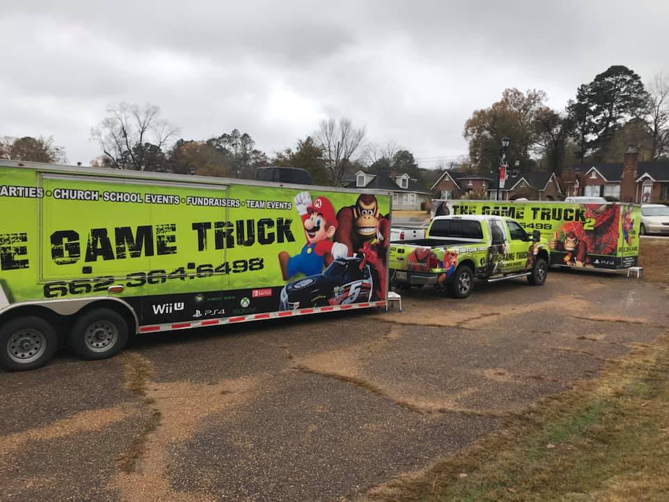 Two video game trucks to serve Steen, Columbus Mississippi and Alabama
