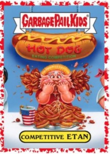 2016-Topps-Garbage-Pail-Kids-American-as-Apple-Pie-in-Your-Face-Bloody-Nose-Parallel