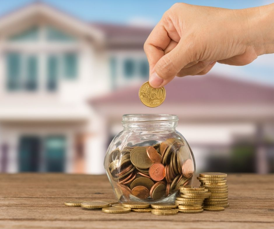 saving up to buy a home