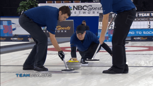 Read more about the article Hollywood has a curling team and they want Blake Shelton