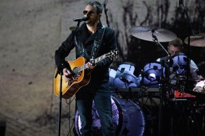 Eric Church performs at the 2015 Grammy Awards