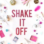 Crafty Shake It Off poster from Etsy