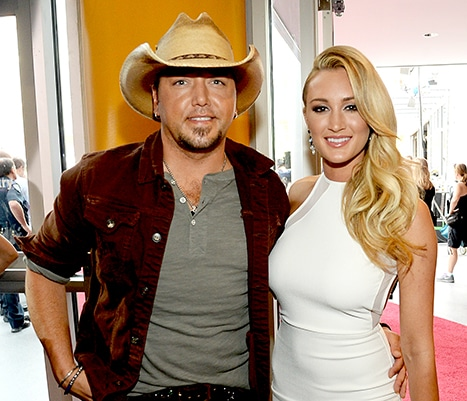 Jason Aldean's Fiance Probably Wouldn't Do A Duet Because Of The Media Stuff They've Been Through?