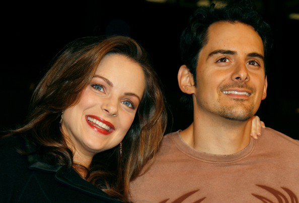 Brad Paisley has two people his wife is not allowed to kiss