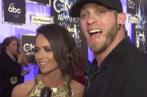 Brantley Gilbert and fiance