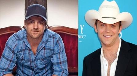 To answer that fan question:  Are Justin Moore and Kip Moore related?