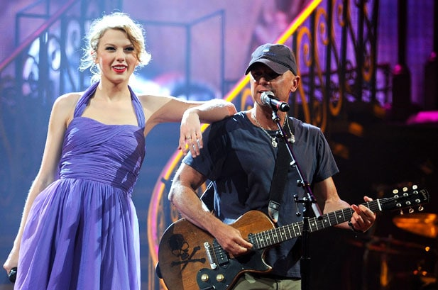 Kenny Chesney Paid To Keep Taylor Swift Off His Tour?