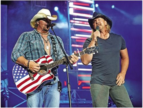 Trace Adkins and Toby Keith