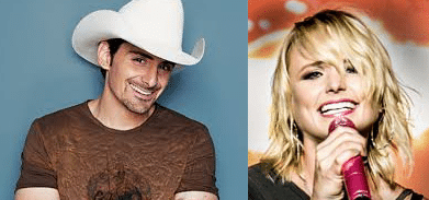 Brad Paisley and Miranda Lambert are now world record holders!