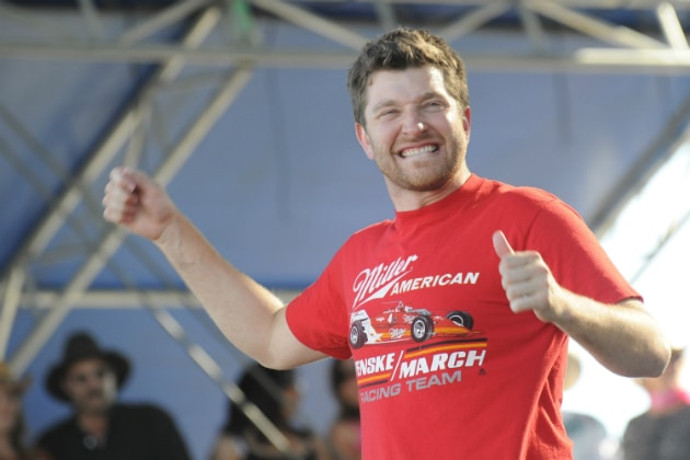 Brett Eldredge is ready to get high…