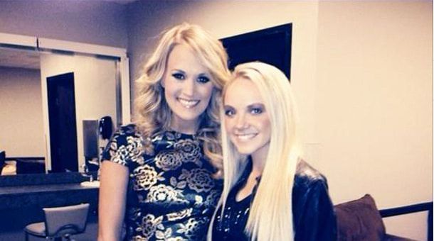 Danielle Bradbery joins the cool kids wearing CALIA by Carrie…