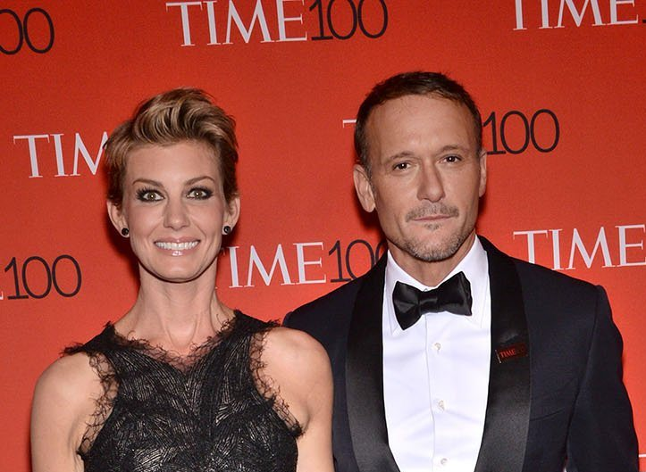 Tim McGraw and Faith Hill partied with Kim Kardashian and Kanye West last night