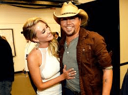 Do you think Jason Aldean seems more focused and grounded since being married?