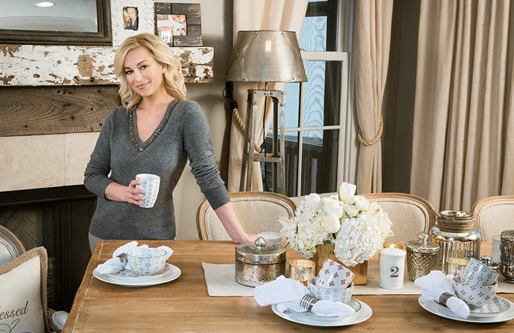 Selma Drye By Kellie Pickler Home Goods Collection Unveiled at a  Launch Party Backstage at the Grand Ole Opry House