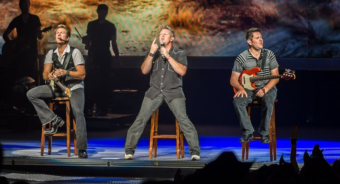Looks like Rascal Flatts found their genie in a bottle with Christina Aguilera