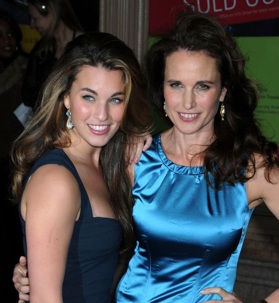 Did you know actress Andie MacDowell's daughter sings country music?