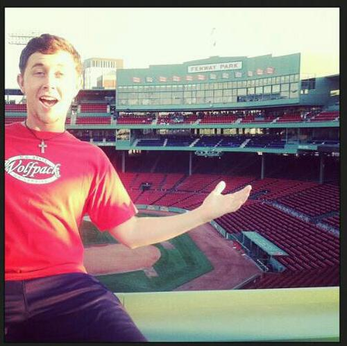 Read more about the article Scotty McCreery Shares His Thoughts on the Boston Red Sox 2015 season