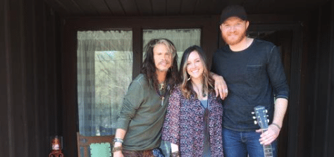 Steven Tyler Writing With Eric Paslay…