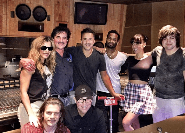 The Band Perry was at The Record Plant Listening to a New Song