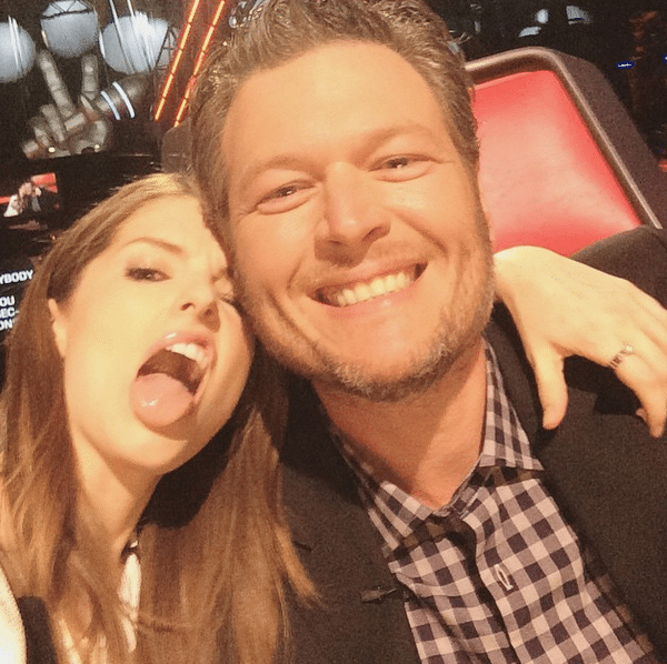 Did you catch Blake Shelton in Pitch Perfect 2 over the weekend?