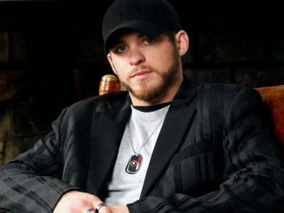 This is probably the cutest picture of Brantley Gilbert you'll ever see