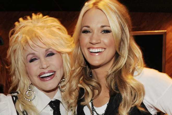 Carrie Underwood dreams like Dolly Parton…