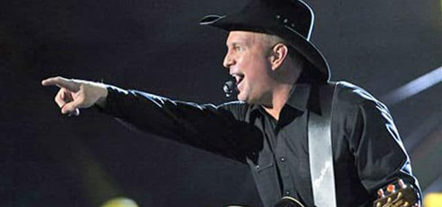 A Lightning Strike May Stop Garth Brooks' Thunder from Rolling