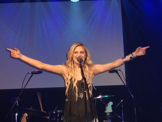 Kelsea Ballerini shows us she has no trouble at CMT's Next Women Of Country Show