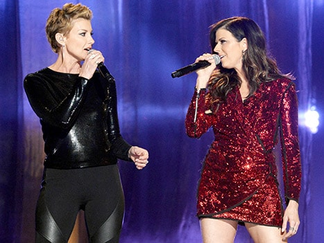 Read more about the article Little Big Town and Faith Hill crush 'Girl Crush' at the BBMA's!