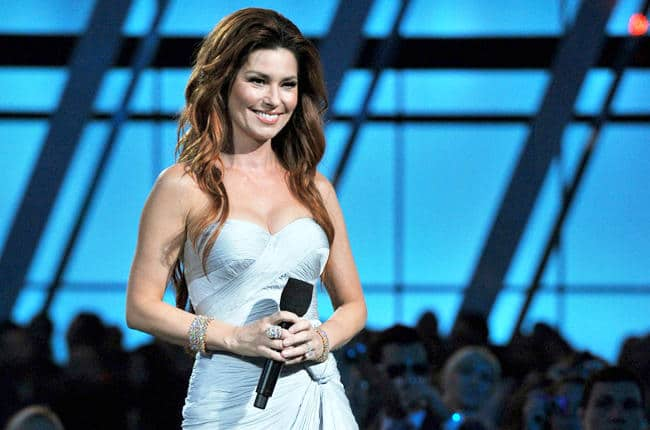 Shania Twain MIGHT have new songs up her sleeve?