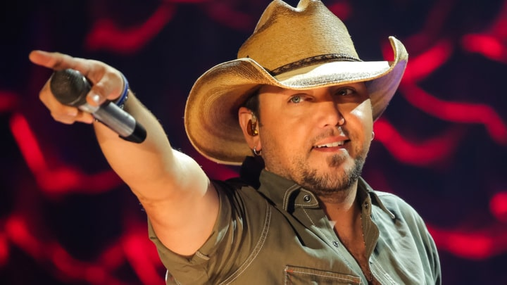 Jason Aldean is aware he has traditional country hits…