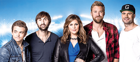 What do you get when you put Sam Hunt, Lady Antebellum, Hunter Hayes and Aerosmith together?
