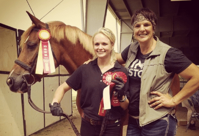 Read more about the article Miranda Lambert's horse glam jams better than most people….