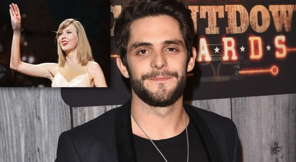 Read more about the article Thomas Rhett shaking it off at Taylor Swift concert tonight!