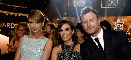 Dierks Bentley welcomes people to New York Taylor Swift style