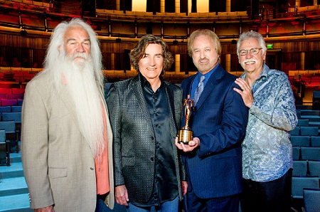 Oak Ridge Boys Honored for 'A Salute to Christmas'