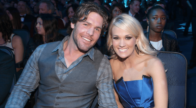 Mike Fisher Becomes the Butt of Carrie Underwood's Jokes
