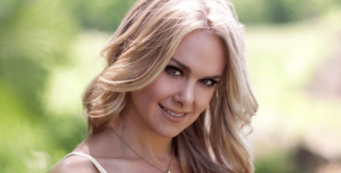 Laura Bell Bundy Gets Locked Down