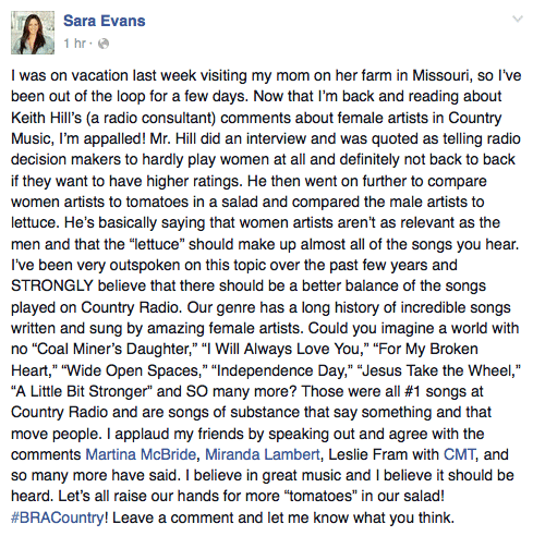 sara-evans-facebook-post