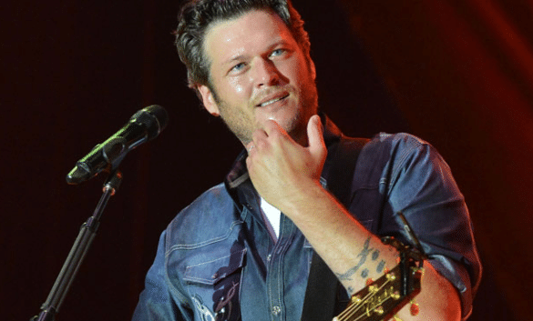 In case you didn't know, Blake Shelton is rich.