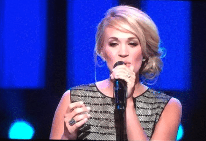 Carrie Underwood dresses up her latest Opry performance